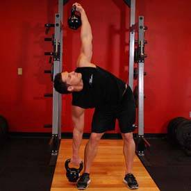 Double Kettlebell Windmill