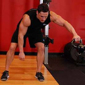 Kettlebell Pass Between The Legs