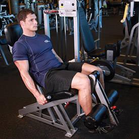 Las extensiones de piernas