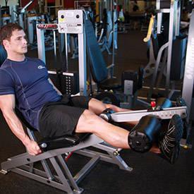 extensiones de la pierna