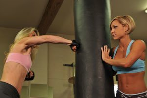 Try Throwing Nonstop Punches To A Heavy Bag For 5 Minutes.