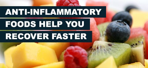 How Anti-Inflammatory Foods Help You Recover Faster!