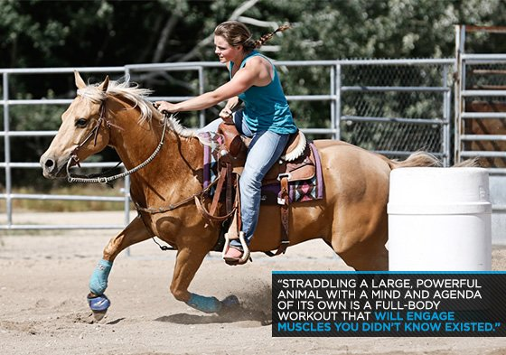 Saddle Up For Fitness