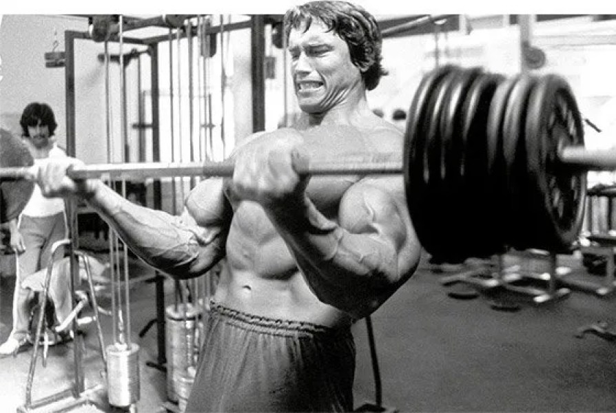 Arnold schwarzeneggers bicep and tricep workout wolvesfitness arnolds approach to triceps was a bit different because his chest was always a strong point his triceps were already at an advantage malvernweather Gallery