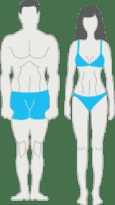 fogyás az endo mezomorf esetében