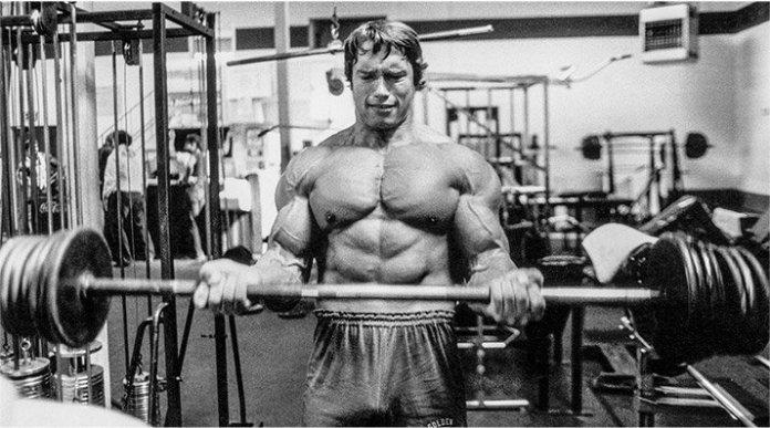 Rutina hipertrofia Arnold haciendo BRAZOS