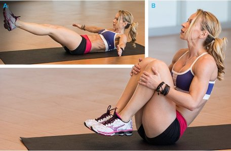 Image result for Knee Hugs ABS