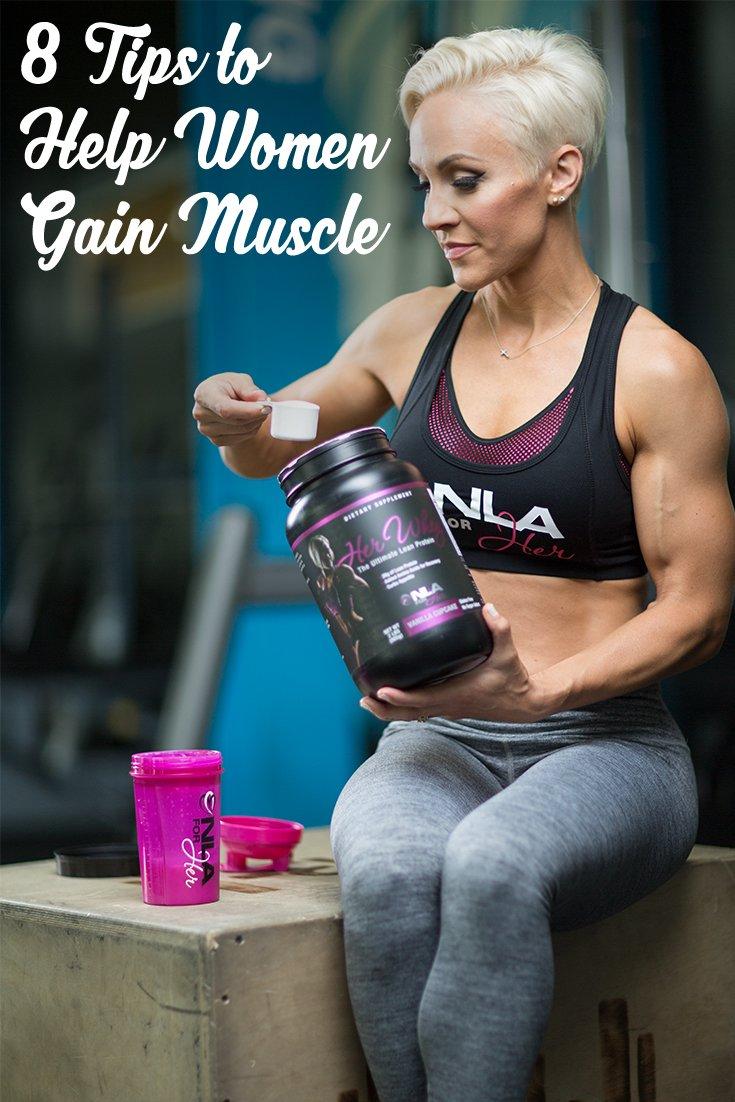 8 Tips To Help Women Gain Muscle