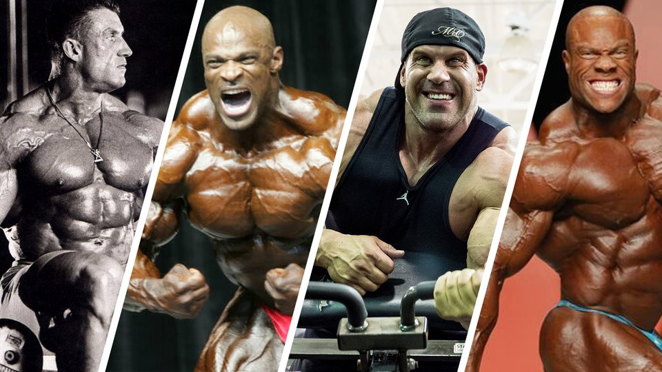 What The Bodybuilding Greats Can Teach You Part 1