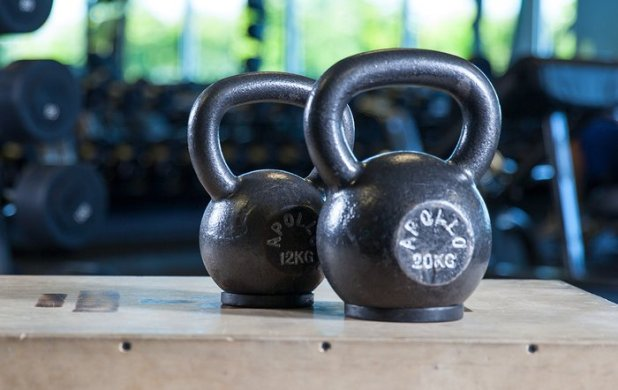 If you don't associate kettlebells with building muscle, well, that's understandable.