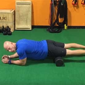 Foam Roll Quads