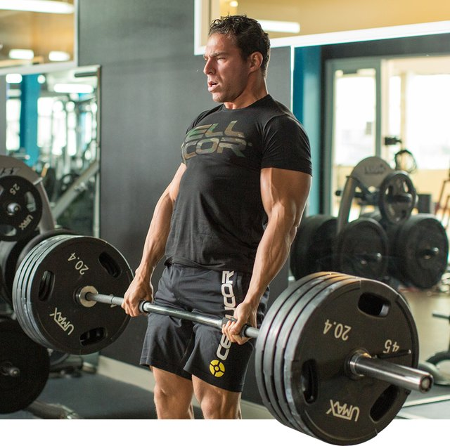 Core strength starts with beltless heavy lifts