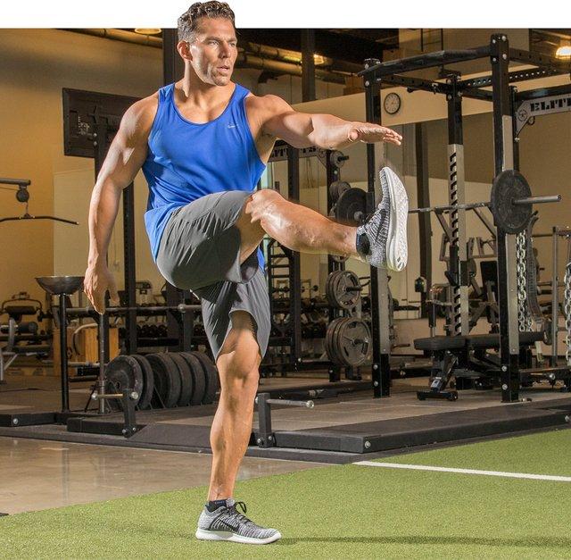 train the whole body often.