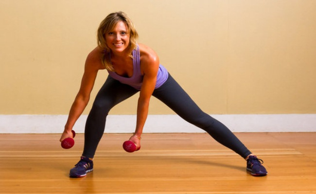 Outer Thigh Exercise