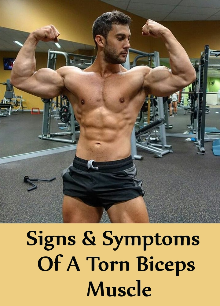 Signs & Symptoms Of A Torn Biceps Muscle