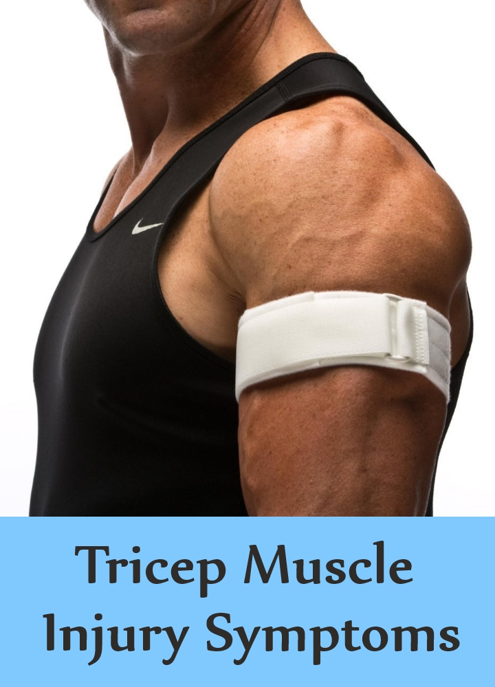 Tricep Muscle Injury Symptoms