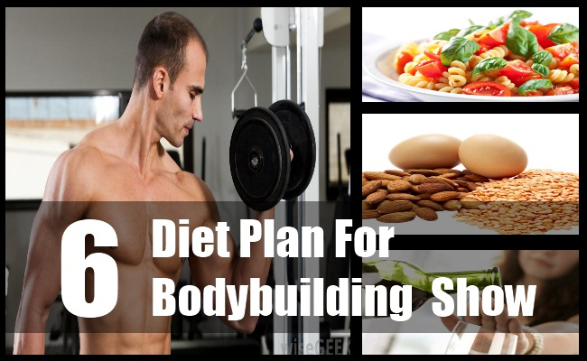 Diet For A Bodybuilding Show