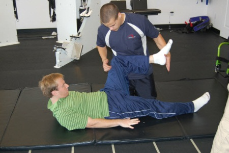 spinal cord injury exercise program
