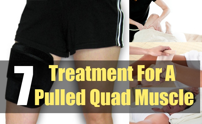 7 Treatment For A Pulled Quad Muscle