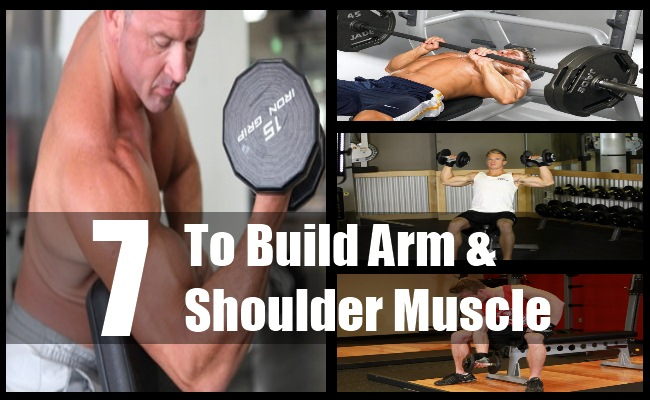 Build Arm & Shoulder Muscle