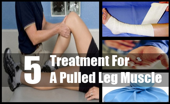 Pulled Leg Muscle