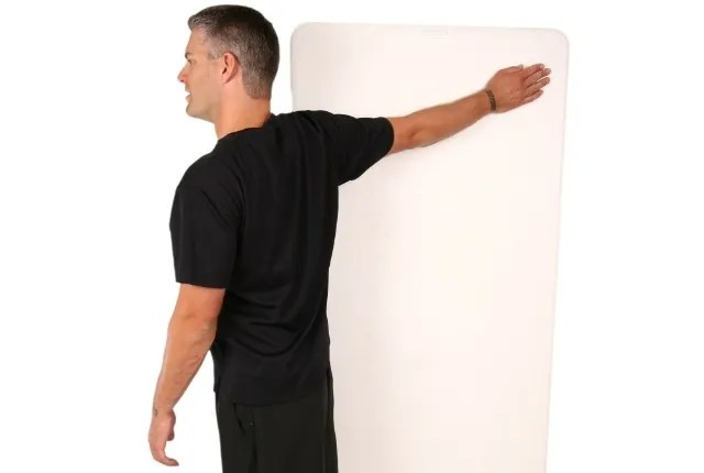 Wall Biceps Stretches