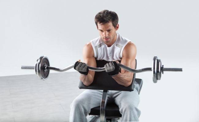 Hanover Barbell Curl