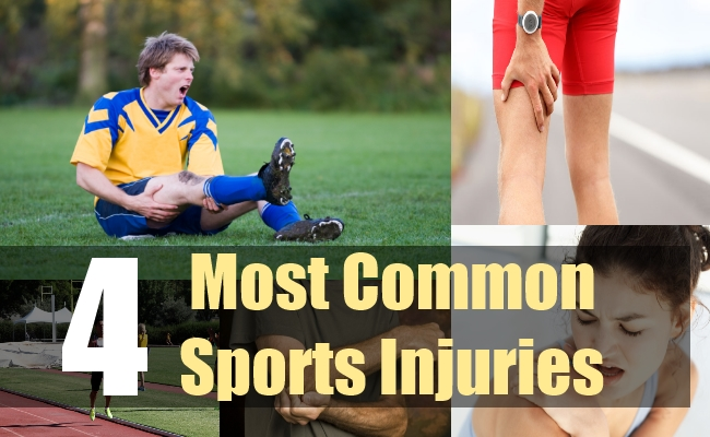 4 Most Common Sports Injuries