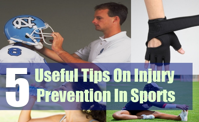 5 Useful Tips On Injury Prevention In Sports
