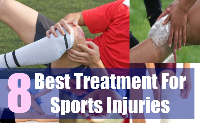 8 Best Treatment For Sports Injuries