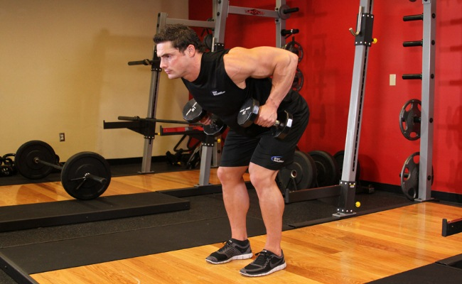 Bent Over Rows For Arms And Shoulders