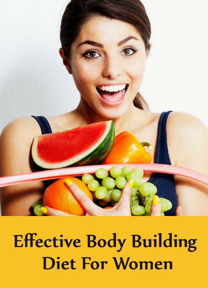 Effective Body Building Diet For Women