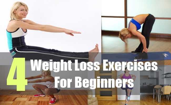 4 Weight Loss Exercises For Beginners