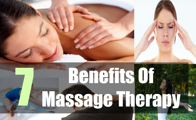 7 Benefits Of Massage Therapy