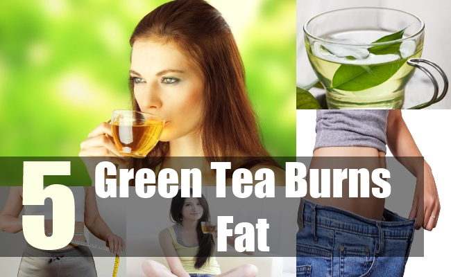 5 Green Tea Burns Fat