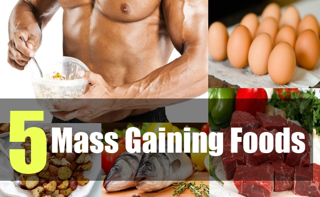 5 Mass Gaining Foods
