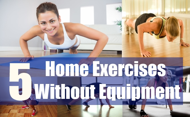 5 Home Exercises Without Equipment