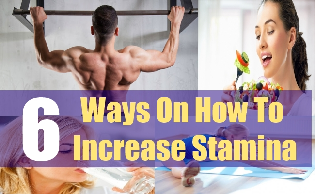 6 Ways On How To Increase Stamina