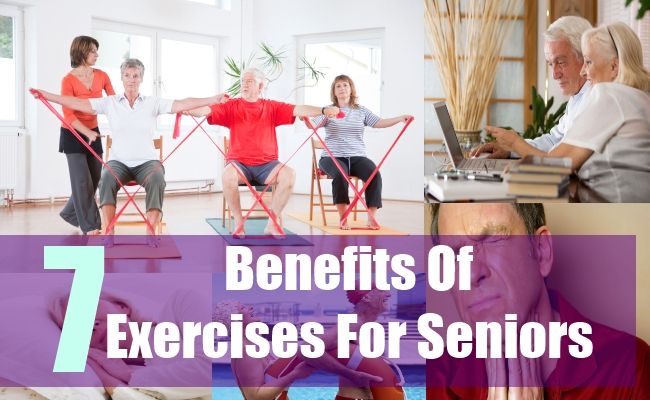 7 Benefits Of Exercises For Seniors