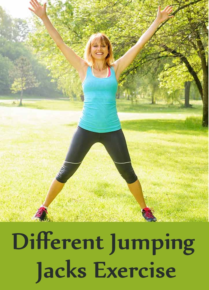 Different Jumping Jacks Exercise