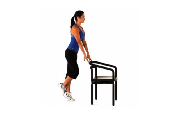Single-Leg Calf Raise