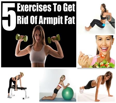 How To Get Rid Of Armpit Fat - Exercises To Get Rid Of Armpit Fat ...