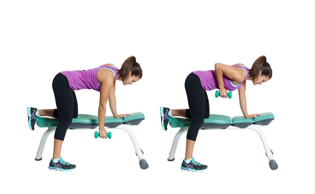 Dumbbell Horizontal Row