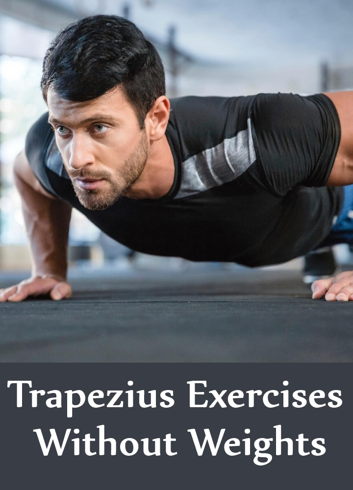 Trapezius Exercises Without Weights
