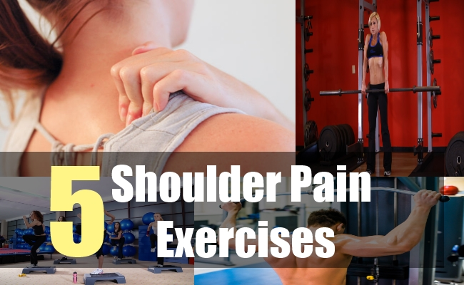 5 Shoulder Pain Exercises