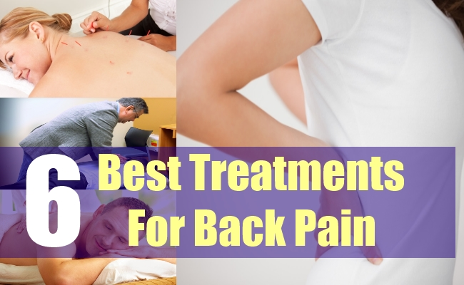 6 Best Treatments For Back Pain