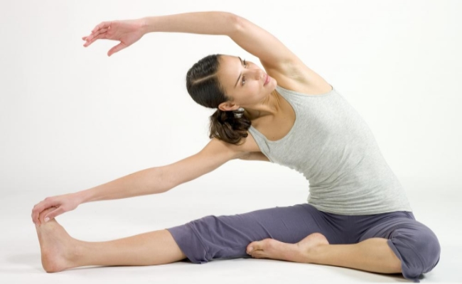Stretching And Breathing Exercise