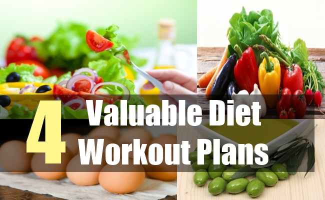 4 Valuable Diet Workout Plans