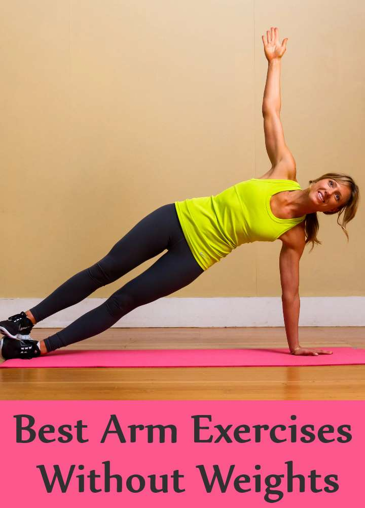 Best Arm Exercises Without Weights