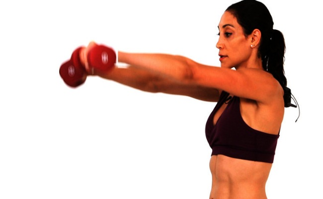 Ball Shoulder Combo Exercise